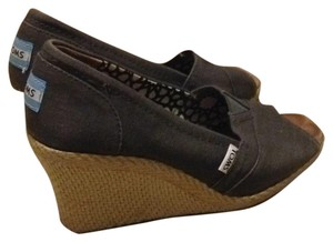 TOMS Ash, grey Wedges