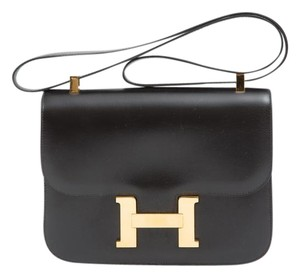 Hermès Constance Box Shoulder Bag