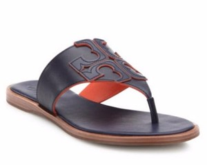 Tory Burch royal navy, red canyon Sandals