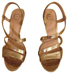 I. Miller Nwt Size 8.5 Gold Gold (Platino) Formal