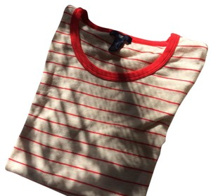 Gap Breton T Shirt Red
