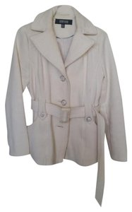 Kenneth Cole Belted Winter Chic Classic Pea Coat