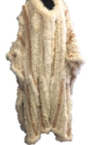 Paula Lishman Knit Fur Cape