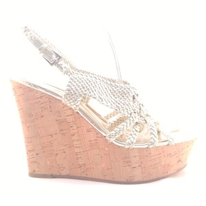 Carlos by Carlos Santana Gold Light Gold Wedges