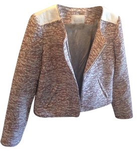 Hinge Tweed, White, Red Blazer