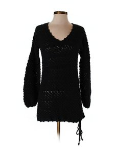 Moda International Longsleeves Sweater Crochet Tunic
