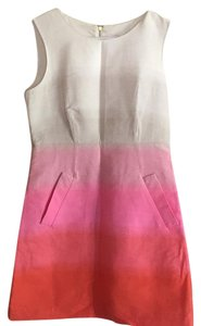 Diane von Furstenberg short dress Pink ombre on Tradesy
