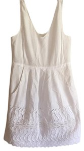 J.Crew short dress White on Tradesy