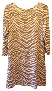 J.Crew short dress Zebra Wool Sheath Knit on Tradesy