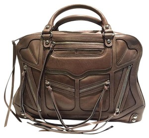 Rebecca Minkoff Satchel in Soft Grey