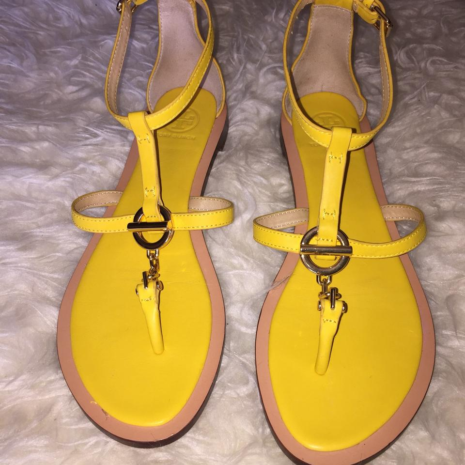 940b63d6e Tory Burch Yellow Sandals Image 7. 12345678. 1 ∕ 8