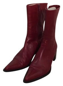 Kenneth Cole Red Boots