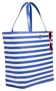 Kate Spade New With Tags Extra Large Blue & White Travel Bag