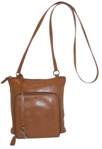 Fossil Refurbished Leather Lined Cross Body Bag