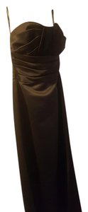 Watters Silk Evening Sleeveless Bridesmaide Dress