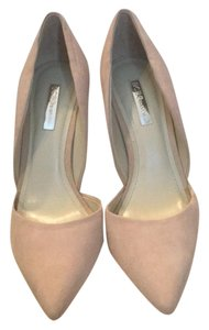 BCBGeneration Blush/nude Pumps