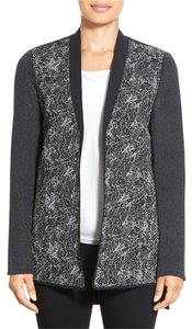 Elie Tahari Black/Grey/White Jacket