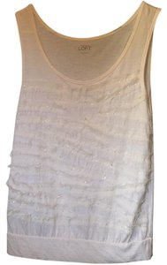 Ann Taylor LOFT Top Cream