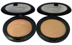 MAC Cosmetics Mineralize SkinFinish MEDIUM NATURAL & SHIMMER +BONUS MSF MED NATURAL