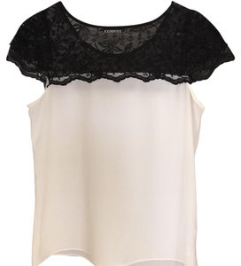 Express T Shirt Black, white