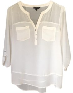 Express Top Cream white