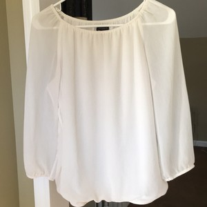 Ann Taylor Top Cream white