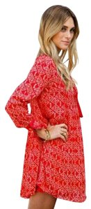 Free People short dress RedCombo on Tradesy