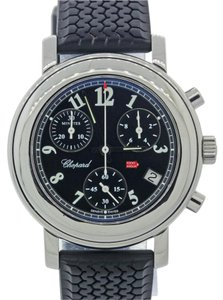 Chopard Ladies Chopard Mille Miglia Chronograph Rubber Steel 33mm Watch