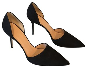 J.Crew Black suede Pumps