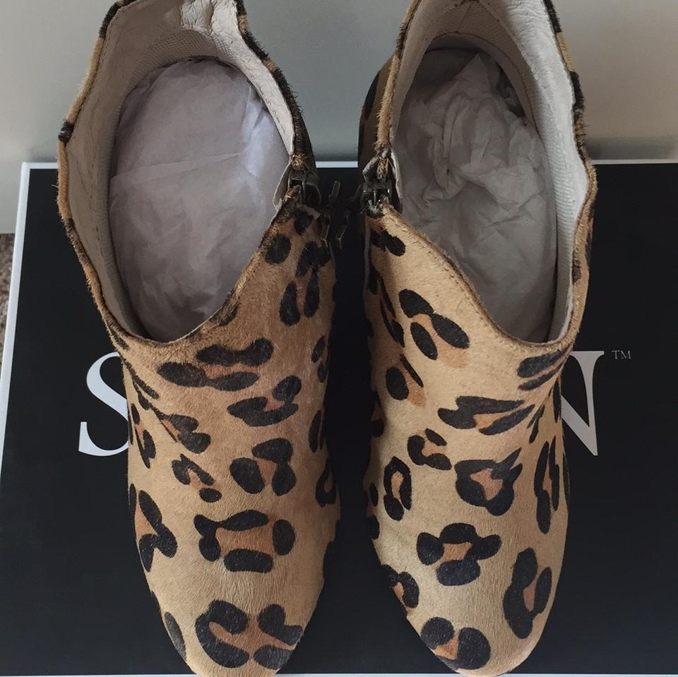Skin Leopard Rodeo Drive Boots Booties Size Us 7 5 Regular