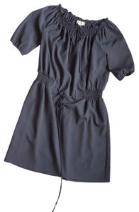 Ann Taylor LOFT short dress Navy blue on Tradesy