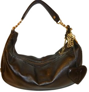 Juicy Couture Refurbished Leather Lined Hobo Bag