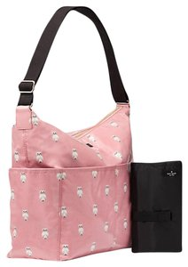 Kate Spade New With Tags Pink & White & Black Diaper Bag