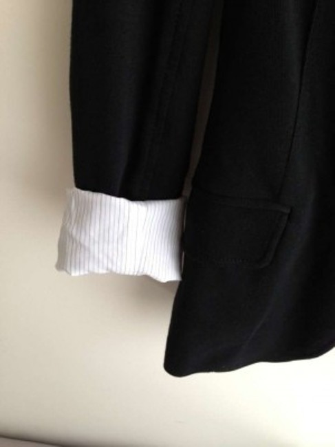 Talula Cotton Black Blazer