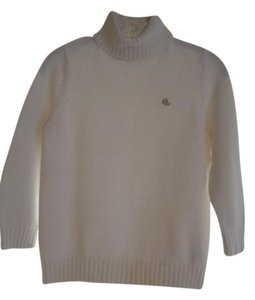 Ralph Lauren Cotton Gold Sweater