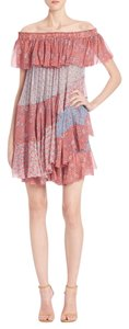 Rebecca Taylor short dress Tangerine-Pink on Tradesy