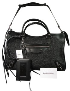 Balenciaga New Detachable Strap Tassels Shoulder Bag