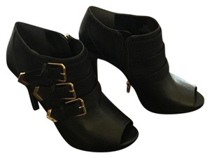BCBGeneration Black with gold hardware Boots