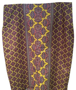 The Limited Pencil Print Plus-size Skirt Multi