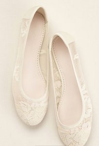 Melissa Sweet Never Worn Melissa Sweet Lace Flats Wedding Shoes