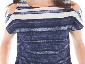Chico's Top Watery stripe