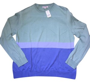 Brooks Brothers Color-blocking Crewneck Cotton Lightweight Layering Sweater