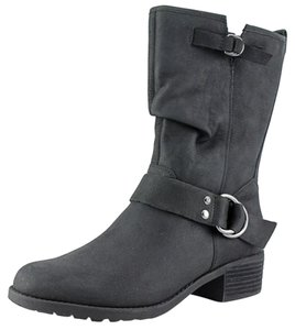Hush Puppies Waterproof Leather Thinsulate Black Boots