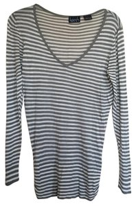Kersh Striped Ruched Sweater