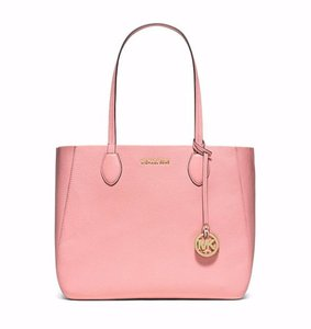 Michael Kors Mihael Tote in pink coral Gold