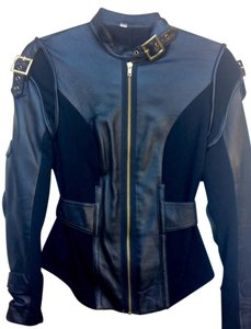 Foley + Corinna Stretch Leather Motorcycle Jacket