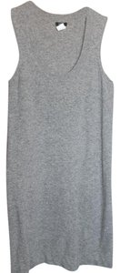 J.Crew short dress Grey Cashmere Wool Fitted Scoop Sweater on Tradesy