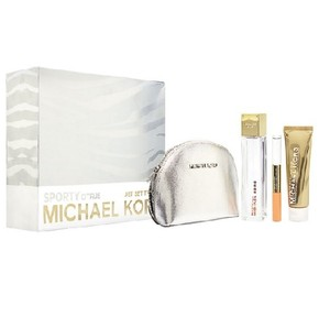 Michael Kors NWT Sporty Citrus Jet Set Travel Gift Set WOMEN Parfum Spray 3.4 oz