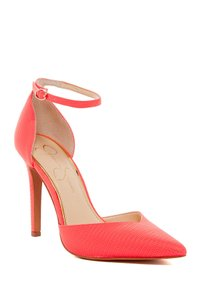 Jessica Simpson Coral Reef Bright Lizard Print Pumps