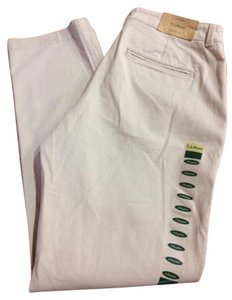 L.L.Bean Chinos Classic Straight Pants Khaki